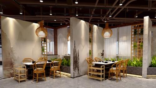 餐厅空间效果图
